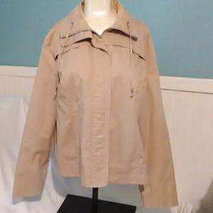 Studioworks Tan Zip Up Jacket